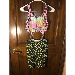 Asos MTV bodycon dress